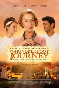 One Hundred Foot Journey Poster
